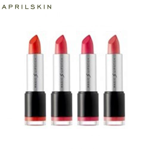 APRIL SKIN Magic S Lip Stick 4 Colors,APRIL SKIN